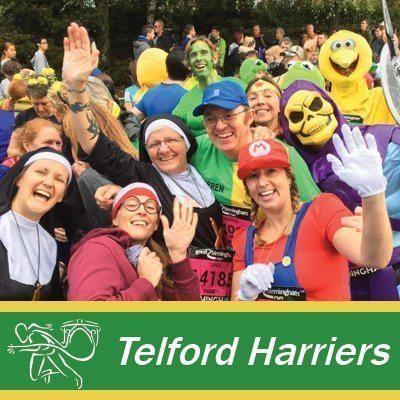 Telford Harriers Running Club's logo