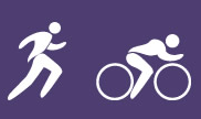 Running and Riding's logo