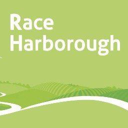Race Harborough's logo