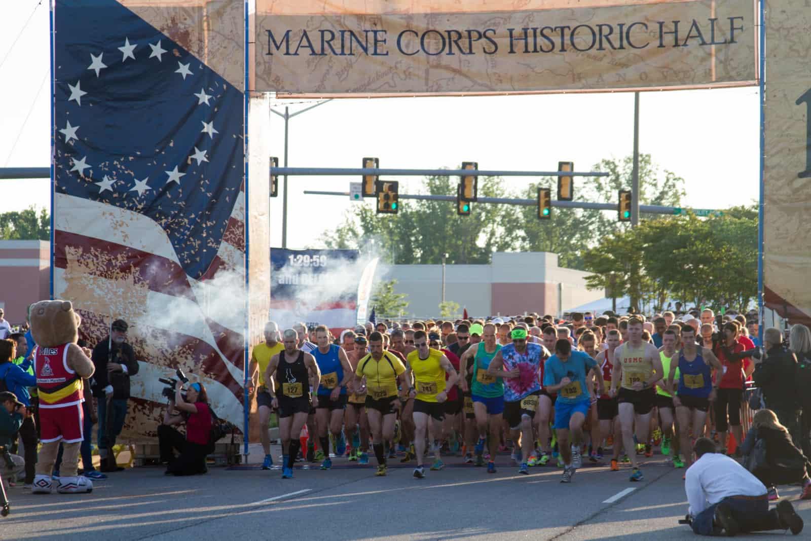 marine corps marathon greatest half in history 2018 sun 20 may