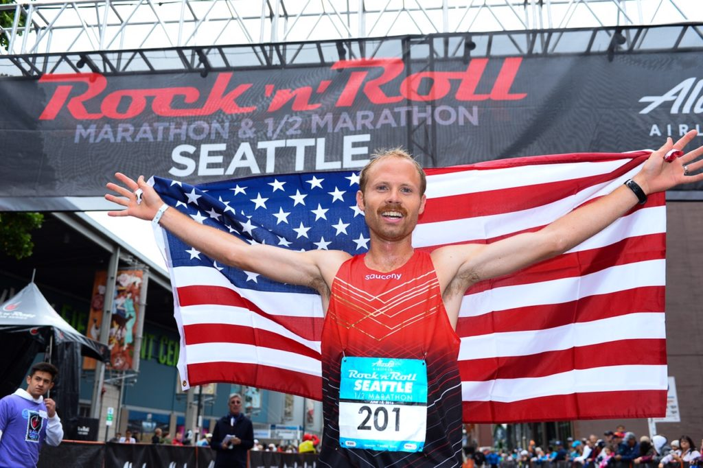 Celebrity marathon runners 2019