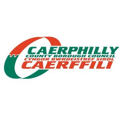 Caerphilly County Borough Council's logo