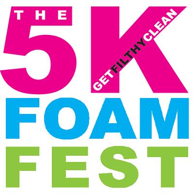 5K Foam Fest's logo