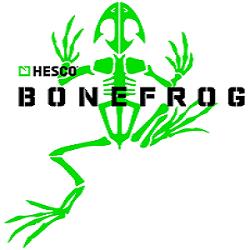Bonefrog's logo