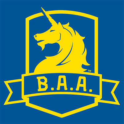 B.A.A. Boston Athletic Association's logo